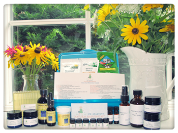 Natural Response Kit: Naturopathic home remedies & tinctures